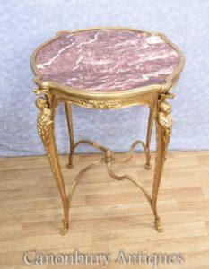 franz sisches reich ormolu beistelltisch maiden figur beine antike b cherregale english. Black Bedroom Furniture Sets. Home Design Ideas